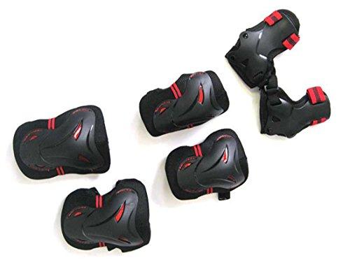 6-teiliges Protektoren-Set MAXOfit mit roten Reflektoren
