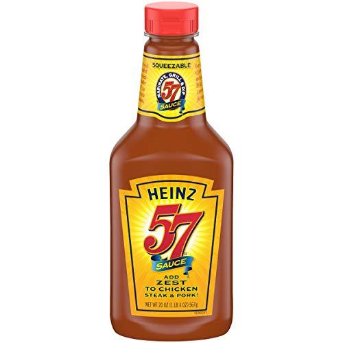 HEINZ 57 Original Sauce, 20 oz. Bottle | Flavorful Blend of Herbs and Seasoning...