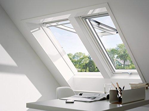 VELUX Dachfenster Kunststoff I Klapp-Schwingfenster GPU 0070 I SK06   114x118 cm