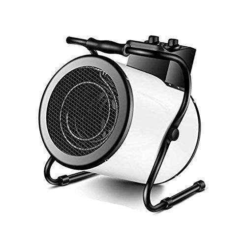 UNU_YAN Calentador eléctrico de cerámica Grande de Volumen de Aire de baño de Efecto Invernadero del hogar Moderno y Simple (Tamaño: 5 KW / 380V / trifásico)