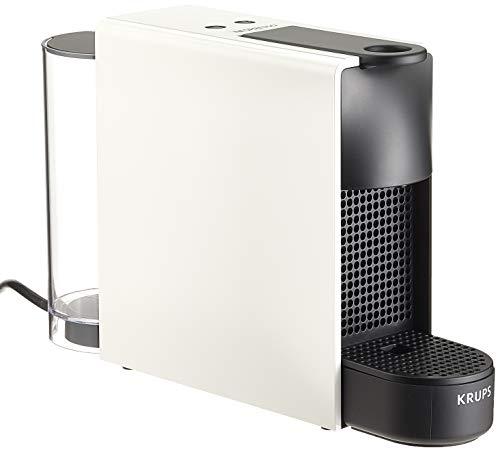 Krups Nespresso Essenza Mini capsulemachine, thermoblock-verwarmingssysteem met melkopschuimer wit