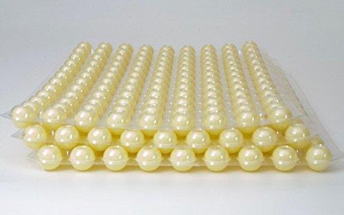 324 Stk. 3-Set Mini Schokoladen Hohlkugeln - Praline Hohlkörper Weiß