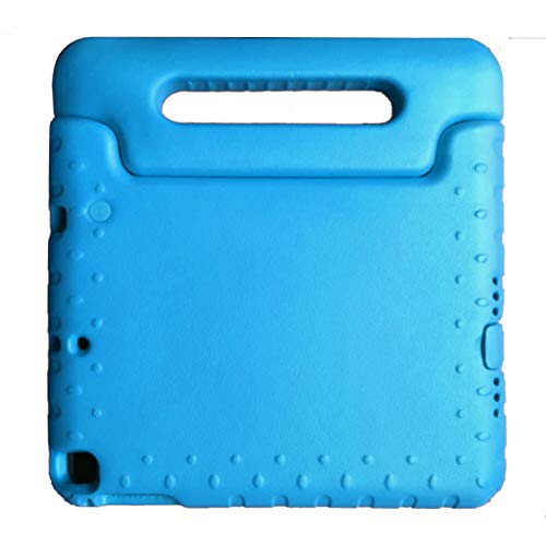 Eva Case for iPad 9.7 Inch 2018 (6th Gen) / 2017 (5th Gen) / iPad Air 2 / iPad Air Shock Proof Protective Cover Friendly School Lightweight Convertible Handle Stand Cover Kids Friendly (Blue)