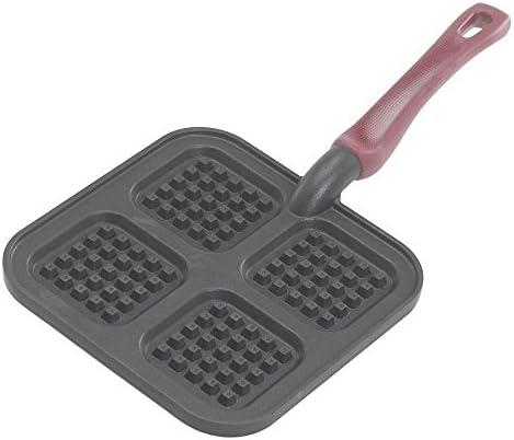 NordicWare 15040 Cast Aluminum Stovetop Belgium Waffle Iron