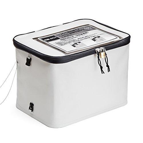 サンワダイレクト 宅配ボックス (個人・戸建用) 簡易固定 鍵・ワイヤー付属 30L 300-DLBOX001