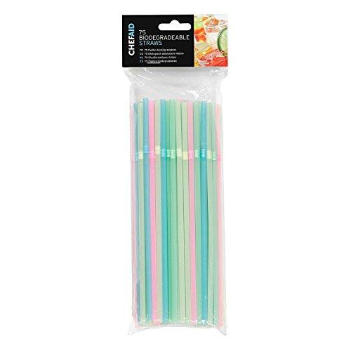 Chef Aid Biodegradable Straws