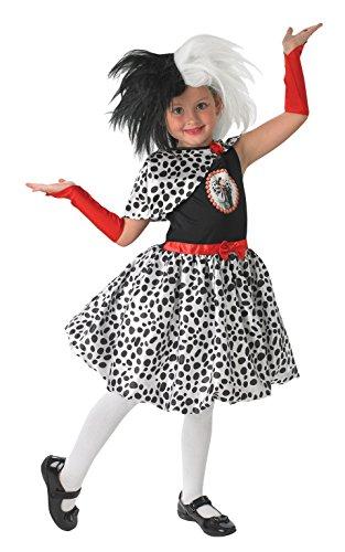Rubie 's Officiële Disney 101 Dalmatiner Cruella kind pruik
