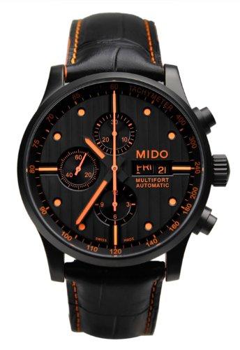 Mido Multifort Chronograph Automatik Leder Herren Armbanduhr m005.614.36.051.22