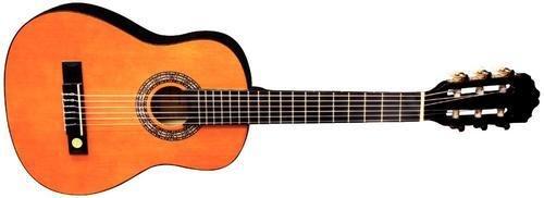 Tenson F500020 Konzertgitarre Classic, honey toned