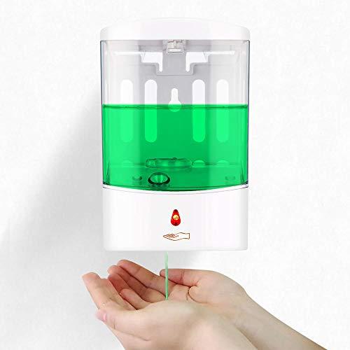 800 ml Capaciteit Automatische Zeepdispenser Touchless Sensor Handdesinfecterend Wasmiddel Dispenser Wandmontage Voor Badkamer-1L