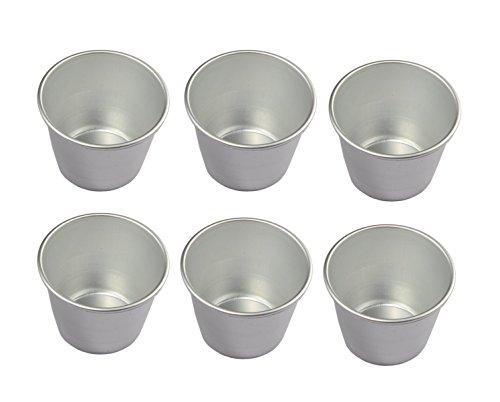 Astra shop Set of 6 Nonstick Individual Pudding Cups