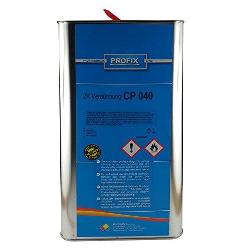 Ludwig Lacke PROFIX 5 Liter Kanne 2 K Verdünner CP 040 2K Universal Verdünnung
