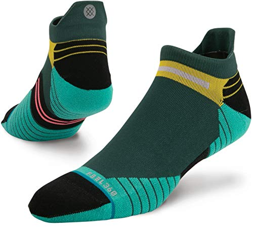 Stance Mens Run Manoa Tab Socks (Multi, X-Large)