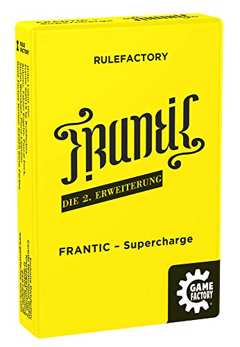 Game Factory 646259 Supercharge, Kartenspiel, 2 Erweiterung