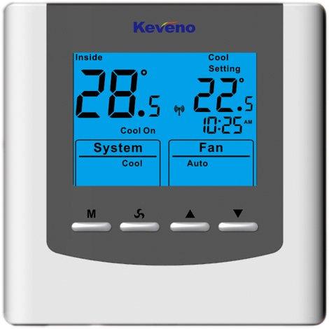 Keveno VAV110B Control de salida analógica único (0-10V/4-20mA) termostato alimentado por AC/DC24V