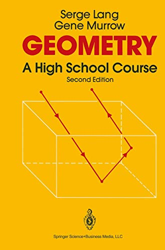 Geometry: A High School Course