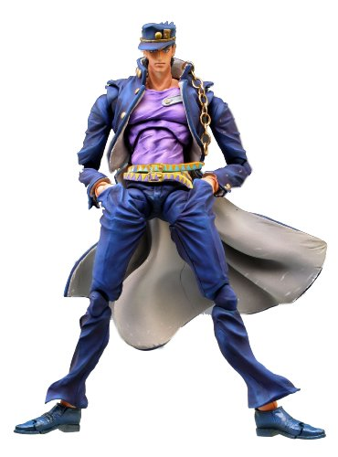 Super Figure Action [JoJo`s Bizarre Adventure] Part III 12.Kujo Jotaro Second (Hirohiko Araki Specify Color) (PVC Figure)