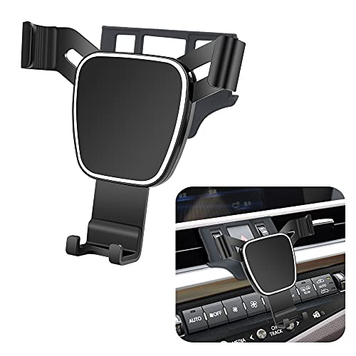 LUNQIN Car Phone Holder for Lexus ES 350 300h 2019-2021 Auto Accessories Navigation Bracket Interior Decoration Mobile Cell Phone Mount