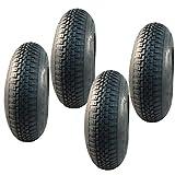 4x Reifen und Schläuche für Tret GoKart 4.00-8 und...