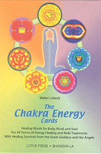 Chakra Energy Cards, The Book and Card Set