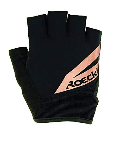 Roeckl Guantes de Ciclismo Irvine Cortos Negro/Cobre, tamaño:10