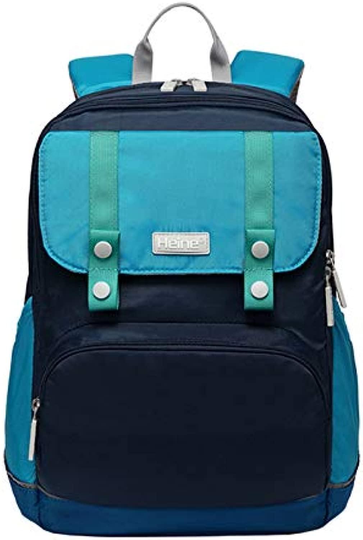 Zaino per la scuola primaria, da 1 a 3 – 4 – 6 Grade Burden Ridge, impermeabile e indossabile, zaino di sicurezza per bambini dark blu