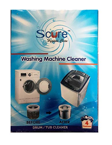 SCURE Best Descaler Washing Machine Tub/Drum Cleaning Powder-...