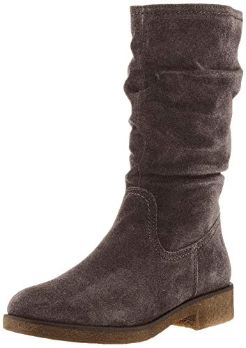 Tamaris Damen 1-1-26484-23 Hohe Stiefel, Grau (Anthracite 214), 39 EU