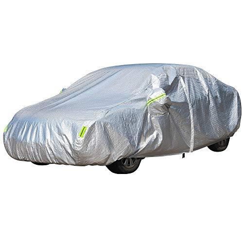 ERQINGCZ Cubierta Impermeable del Coche Cubierta Exterior para Coche UV contra Nieve Lluvia Sol Previniendo Cubierta A Prueba De Polvo para VW Volkswagen Caddy