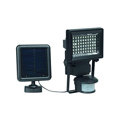 Duracell A12C-S400-BK-PK1 Solar LED Lampe beleuchte, Metall, schwarz, 4,9 x 12,12 x 22,67 cm