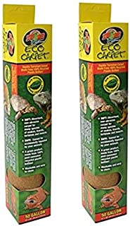"Zoo Med Eco Carpet Reptile Carpet - Tan 50 Gallon (15"" x 48"") - Pack of 2"