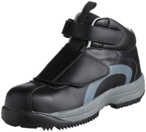 [ミドリ安全] 安全作業靴 JSAA認定 雪上用 簡易防水 スノーシューズ ハイカット プロスニーカー MPS135 メンズ ブラック 24.0(24cm)
