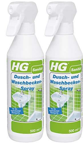 Gardopia Sparpaket: HG Dusch- und Waschbecken-Spray 2x 500ml