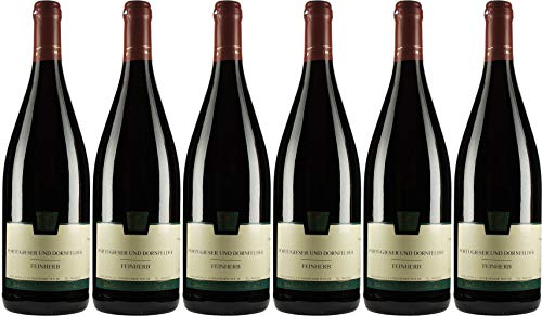 Flörsheimer Hof Portugieser und Dornfelder Cuvée 1L 2017 Feinherb (6 x 1.0 l)