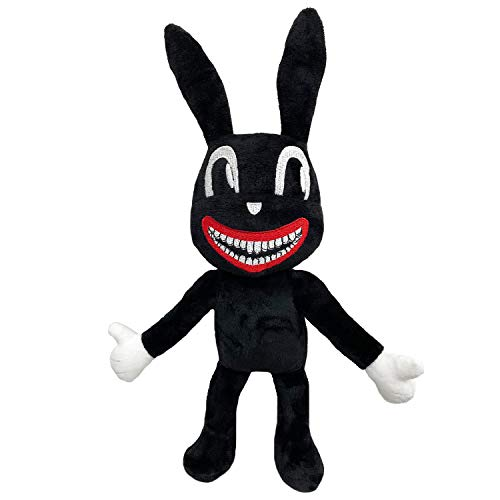 SUVAPOTAC Siren Head Plush Toys Party Boys and Girls Gift 15' (Black Cartoon Rabbit)