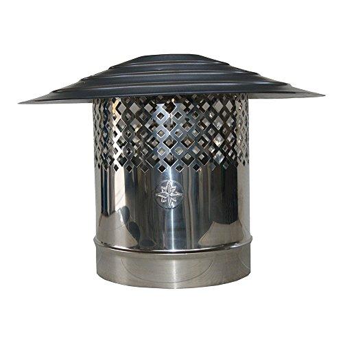 MISTERMOBY TUYAU CERTIFICAT ISOLE DOUBLE PAROI ACIER INOX DIAMETRE 100//150 MM DE 250 MM
