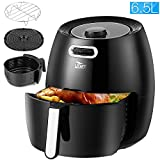 Uten 6.5L Air Fryer 1900W with Rapid Air Technology for Healthy Oil Free