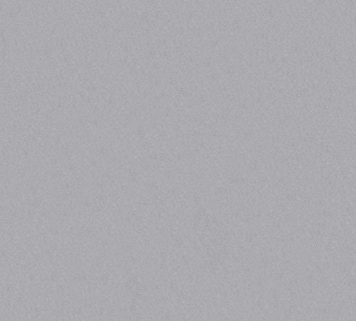 A.S. Création Vliestapete Memory Tapete Unitapete 10,05 m x 0,53 m grau Made in Germany 221124 2211-24
