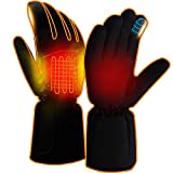 Rechargebale Heated Gloves Electric Battery Men...