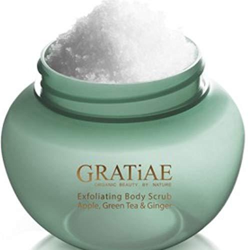 Gratiae Organic Exfoliating Salt Scrub Apple, Green Tea and Ginger...