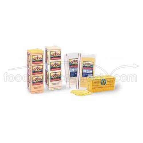 Land O Lakes American White Deli Process Cheese Loaf - Sliced, 8 Ounce - 12 per case.
