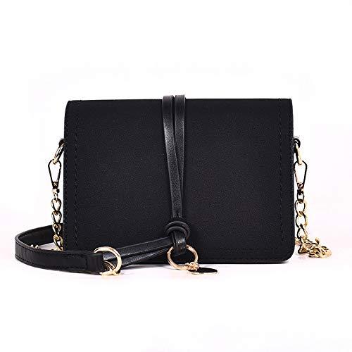 Small Square Bag Schouder Diagonaal Vrouwelijke Tas Zwart