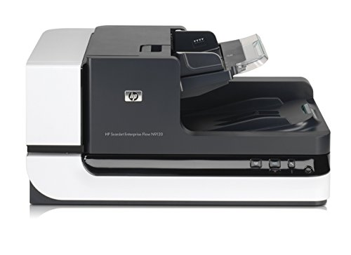 Best Buy! HP ScanJet Enterprise Flow N9120 Flatbed OCR Scanner (Renewed)