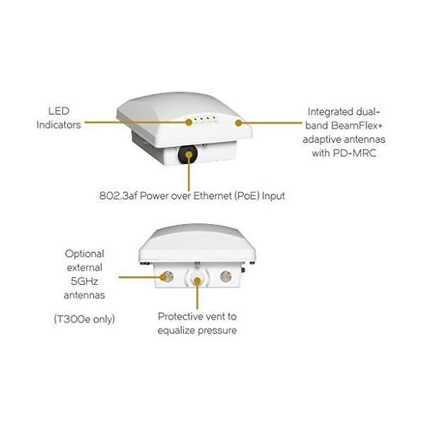Ruckus Wireless ZoneFlex T300 (Omni, Outdoor Access Point, 802.11AC, 2×2:2 – Internal BeamFlex+, Dual-Band Concurrent…