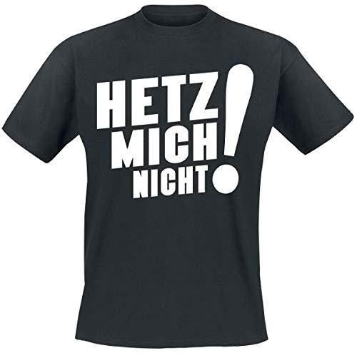 Sascha Grammel Hetz Mich Nicht! T-Shirt schwarz XL