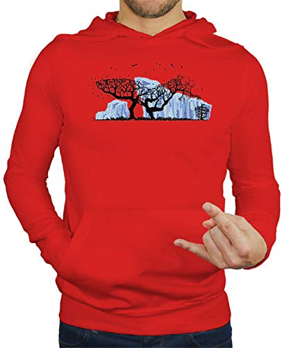 latostadora - Jersey Scrat Tree para Hombre Rojo S