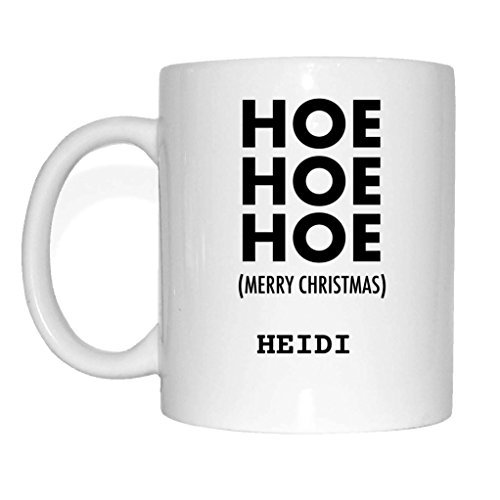Jollify Present voor Heidi Beker Mok Kerstmis MX5408 Hoe Hoe Hoe