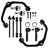 10PCS - Front Upper Control Arm kit for 1998-2011 Ford Ranger 2WD, 2001-2003 Mazda B2300, 1998-2001 Mazda B2500, 1998-2004 Mazda B3000, 1998-2003 Mazda B4000