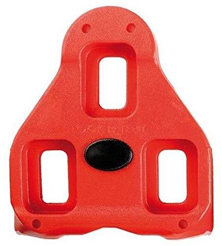 Look P0151 090 Pedalplatten Delta Bi-Material (Farbe: rot, Paar)