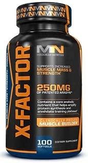 x factor advanced dosage